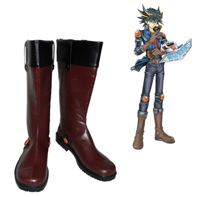 Yu-Gi-Oh! 5D's Yusei Fudo Cosplay Shoes UK