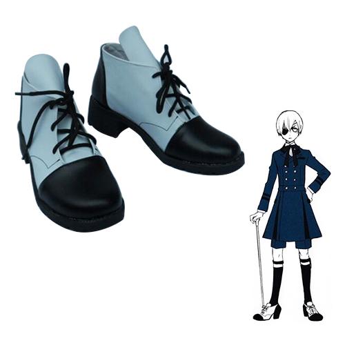 Black Butler Ciel Phantomhive Faschings Stiefel Cosplay Schuhe
