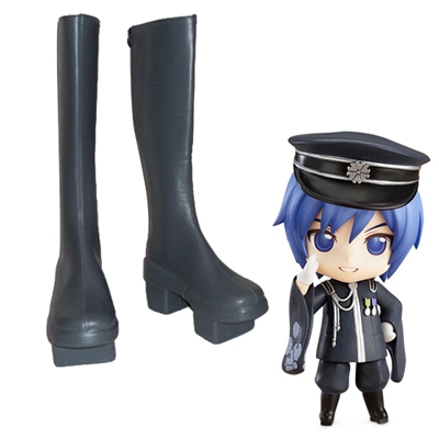 Vocaloid Kaito Thousand Cherry Faschings Stiefel Cosplay Schuhe