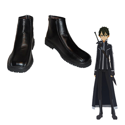 Sword Art Online Calibur Mother's Rosary Kirito Chaussures Carnaval Cosplay