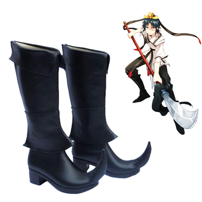 Magi: The Labyrinth of Magic Hakuryuu Ren Faschings Stiefel Cosplay Schuhe