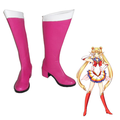 Zapatos Sailor Moon Usagi Tsukino Cosplay Botas