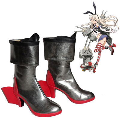 Zapatos Kantai Collection Shimakaze Cosplay Botas