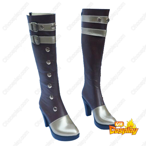 League of Legends Caitlyn the Sheriff of Piltover Faschings Stiefel Cosplay Schuhe