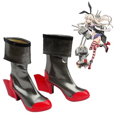 Zapatos Kantai Collection Yamato Cosplay Botas
