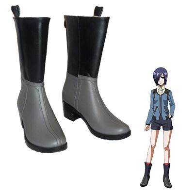 Zapatos Tokyo Ghoul Touka Kirishima Cosplay Botas