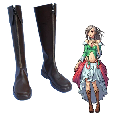 Dungeon and Fighter Seria Kirmin Faschings Stiefel Cosplay Schuhe
