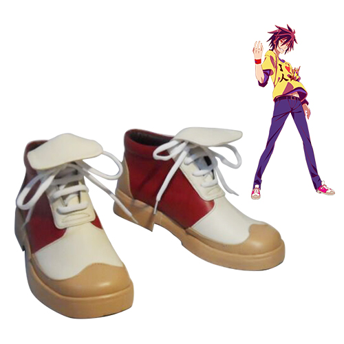 No Game No Life Sora Faschings Stiefel Cosplay Schuhe