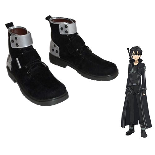Sword Art Online Kirigaya Kazuto Boots Cosplay Shoes