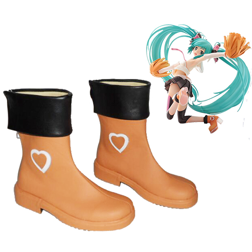 Vocaloid Hatsune Miku Sing & Smile Cosplay Shoes