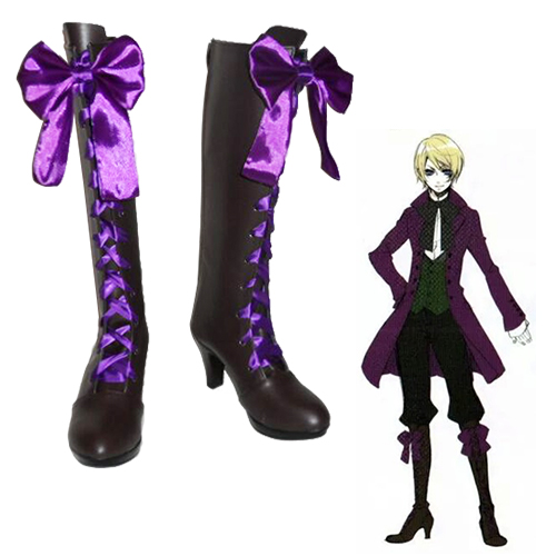 Black Butler Alois Trancy Chaussures Carnaval Cosplay