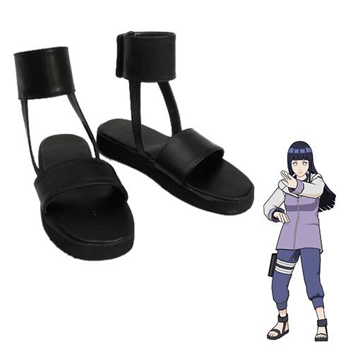Naruto Hyūga Hinata Chaussures Carnaval Cosplay