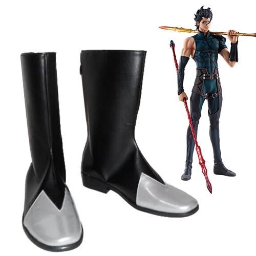 Fate/Zero Diarmuid Ua Duibhne Cosplay Sko Karneval Støvler