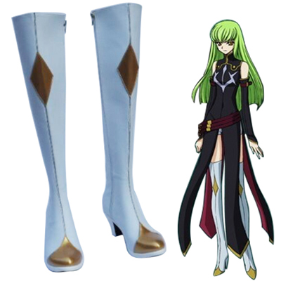 Code Geass C.C. Cosplay Shoes