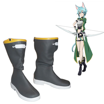 Sword Art Online Calibur Mother's Rosary Asada Shino Cosplay Shoes