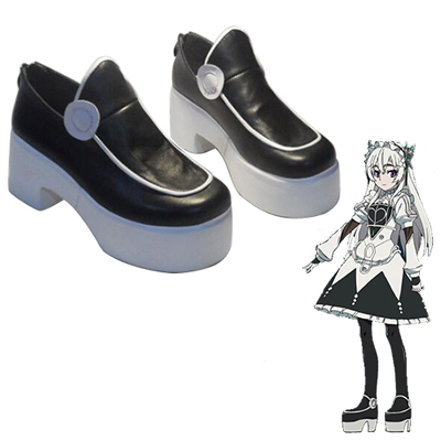 Zapatos Chaika - The Coffin Princess Chaika·trabant Cosplay Botas
