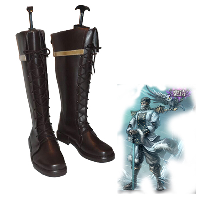Zapatos League of Legends the Master Tactician Swain Cosplay Botas