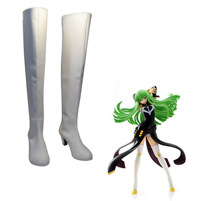 Code Geass C.C. Queen Faschings Stiefel Cosplay Schuhe