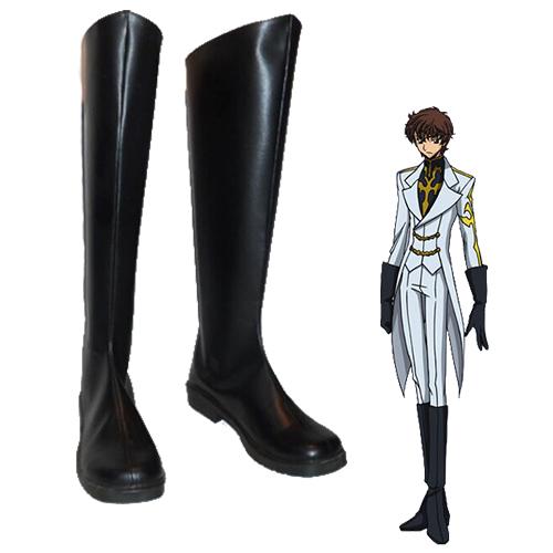 Code Geass Suzaku Kururugi Chaussures Carnaval Cosplay