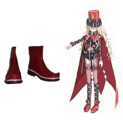 A Certain Magical Index Sasha Kruezhev Faschings Stiefel Cosplay Schuhe
