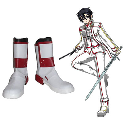 Sword Art Online Knights of the Blood Kirigaya Kazuto Cosplay Scarpe Carnevale