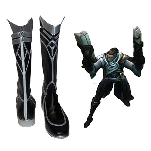 League of Legends Lucian Cosplay Shoes