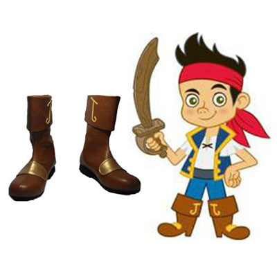 Zapatos Jake and the Never Land Pirates Jake Cosplay Botas