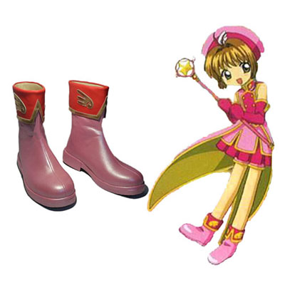 Cardcaptor Sakura Kinomoto Sakura Cosplay Shoes UK