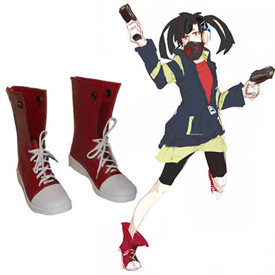 Kagerou Project Enomoto Takane Ene Red Chaussures Carnaval Cosplay