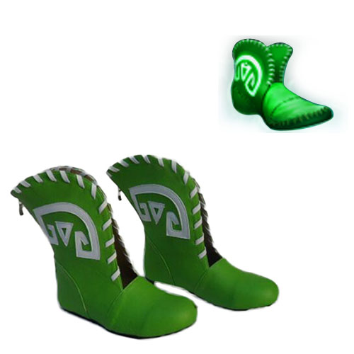 Warcraft III: Frozen Throne DotA Tranquil Boots Faschings Stiefel Cosplay Schuhe