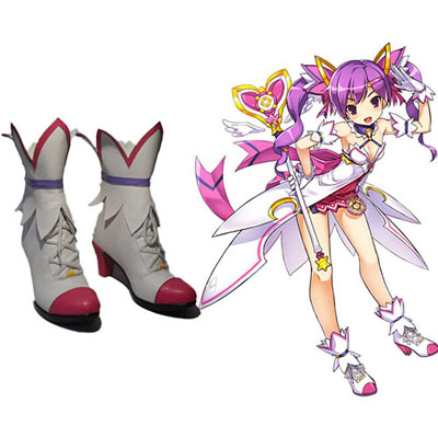 Elsword Aisha Dimension Witch Faschings Stiefel Cosplay Schuhe