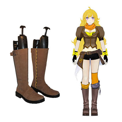 RWBY Yang Xiao Long Faschings Stiefel Cosplay Schuhe