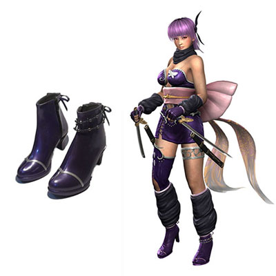 Ninja Gaiden Ayane Cosplay Shoes UK