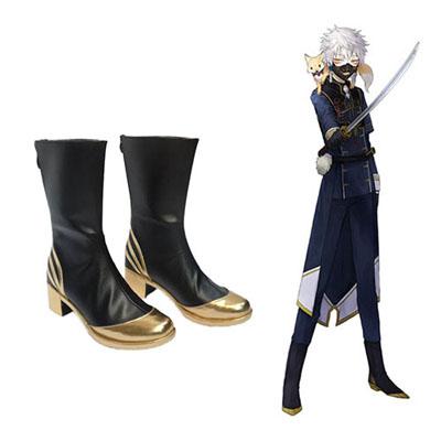 Zapatos Touken Ranbu Online Nakigitsune Cosplay Botas