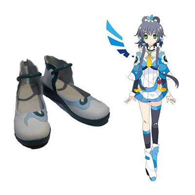 Vocaloid China North-South Group Luo Tianyi Faschings Stiefel Cosplay Schuhe