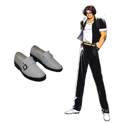 The King of Fighters Kyo Kusanagi Bottes Carnaval Cosplay
