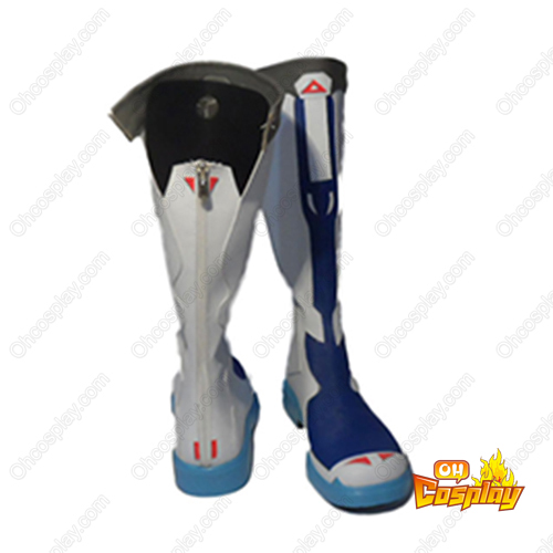 Vocaloid Hatsune Miku: Project DIVA 2ND Kaito Faschings Stiefel Cosplay Schuhe
