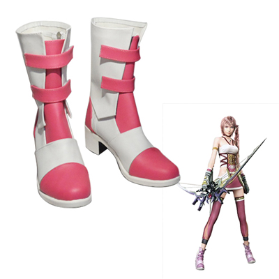 Final Fantasy XIII Serah Farron Faschings Stiefel Cosplay Schuhe