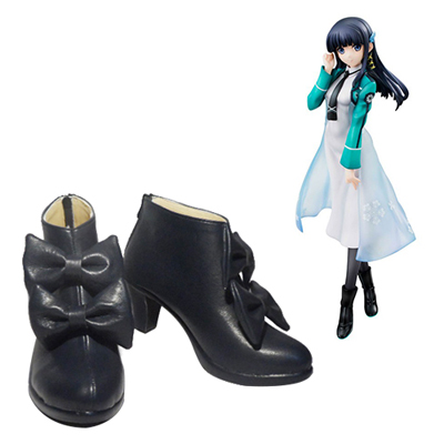 Zapatos The Irregular at Magic High School Shiba Miyuki Cosplay Botas