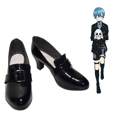 Black Butler Ciel Phantomhive Cosplay Shoes NZ