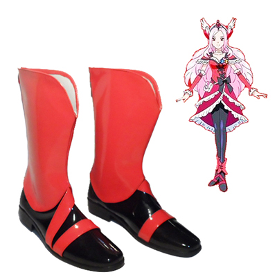 Fresh Pretty Cure! Eas Cure Passion Cosplay Shoes UK