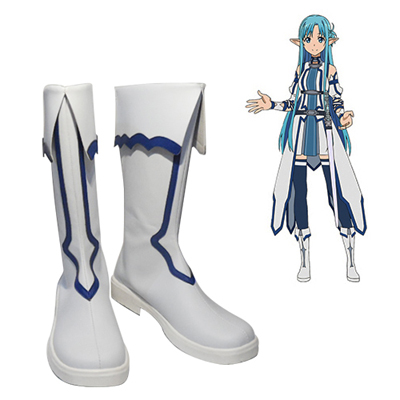 Sword Art Online Calibur Mother\'s Rosary Asuna Sapatos Carnaval