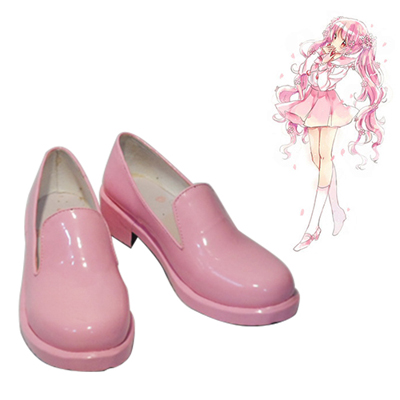 Vocaloid Sakura Miku Pink Cosplay Shoes