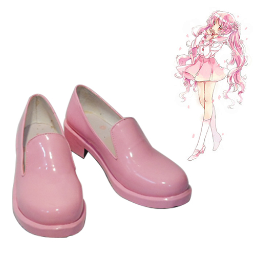 Vocaloid Sakura Miku Pink Cosplay Shoes NZ