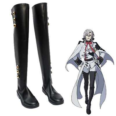 Seraph of the End Mikaela Hyakuya Ferid Bathory Cosplay Shoes UK