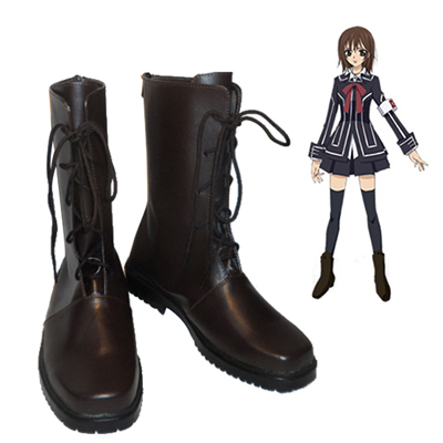 Vampire Knight Kuran Yuki Black Cosplay Shoes UK