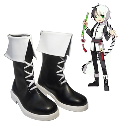 Vocaloid Panda Family Yuezheng Longya Cosplay Shoes