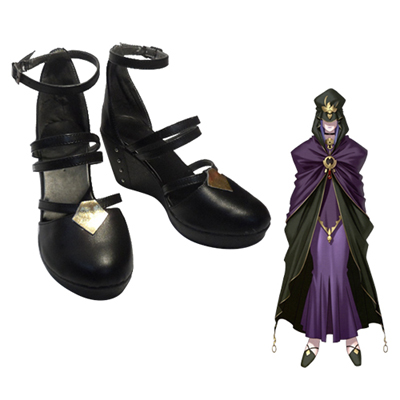 Fate/stay night Caster Medea Chaussures Carnaval Cosplay