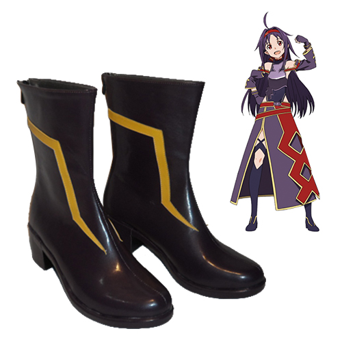 Sword Art Online Mother\'s Rosary Konno Yuuki Sapatos Carnaval