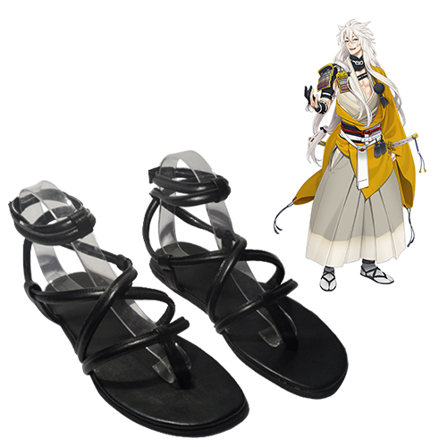 Touken Ranbu Online kogitsunemaru Chaussures Carnaval Cosplay